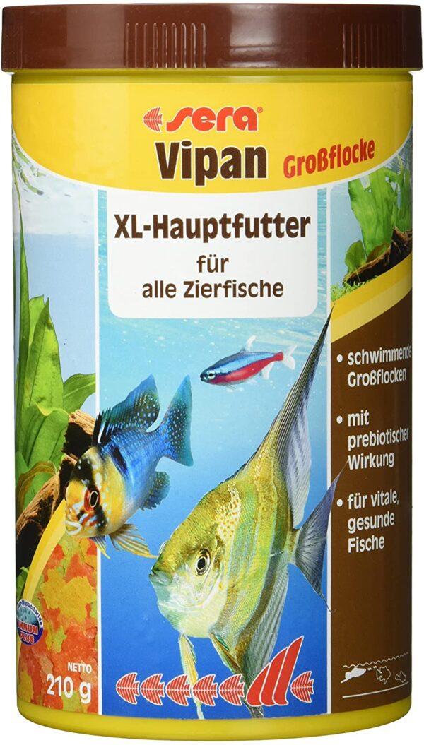 sera vipan Großflocken Fischfutter für den Fischfutterprofi